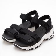 SKECHERS 女時尚休閒系列 DLITES 涼鞋 - 31514BLK