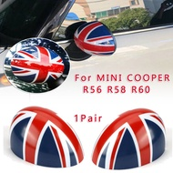 Mirror Cap 1 Pair Manual For MINI COOPER R56 R58 R60 Fold Wing Mirror Cap Cover Casing Union Parts Car High Quality