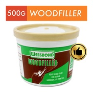 Wessbond WF2205 Wood Filler Putty - In Natural and Teak, 500g
