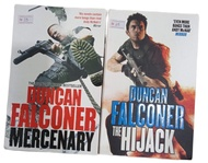clearance old stock  adult fiction- 2 books paperback set  by Duncan Falconer- original guaranteed