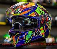 AGV K3 SV Helmet Five Continent-RS Full Face Helmet Dual Visor Full Face Helmet Helmet Motorcycle Full Face Helmet for Motorcycle Safety Helmet Flip Up Helmet AGV K3SV Helmet AGV K3SV Helmet AGV Helmet