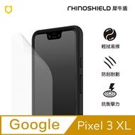 犀牛盾耐衝擊Google Pixel 3XL手機螢幕保護貼 - 正面