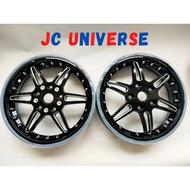 VESPA PRIMAVERA 150 SPRINT 150  GTS 250 300 GTV300 Wheel Ring Rim SPORT RIM Tubeless CNC 12 inch