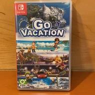 二手Switch遊戲片 - Go Vacation