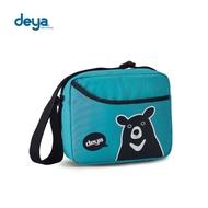 【deya】熊側背包(湖水綠)