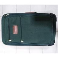 二手出清 Samsonite 深綠色 2輪 側拉 行李箱 20吋