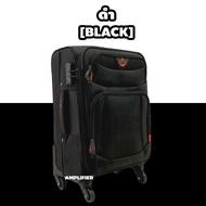 【hot】 [ขยาย-มุมกันกระแทก] กระเป๋าเดินทางผ้า กระเป๋าเดินทางล้อลาก กระเป๋าล้อลาก ขนาด 20 24 28 นิ้ว ซิปกันขโมย Luggage Suitcase
