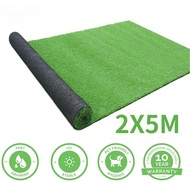 Artificial Grass Turf 1X2M/2X5M Realistic Thick Synthetic Fake Grass Mat for Outdoor Garden Landscape Balcony Dog Grass Rug