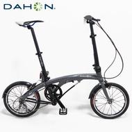 DAHON大行 EEZZ D3 16吋3速鋁合金輕量化折疊單車/自行車-霧灰