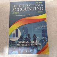 The Intermediate Accounting Series volume 3 By Robles