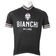 Nalini Bianchi Milano Pride 經典冠軍專業車衣 黑色, 尺寸: M