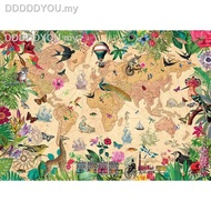 ❇♧∈✠England import Jigsaw Puzzles Gibsons 1000PCS Adult puzzle The world of life1111