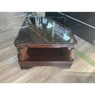 吉田二手傢俱❤實木茶几方几邊几矮桌客廳沙發桌邊桌