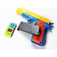 ปืนฝึกซ้อมเมือนจริง NERF GUN M1911 ยิงกระสุนได้ ไม่เป็นอันตรายืนฝึกซ้อมเมือนจริง NERF GUN M1911 ยิงกระสุนได้ ไม่เป็นอันต