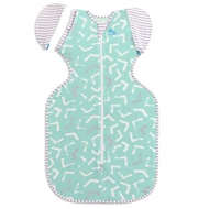 Love to Dream Swaddle Up 50/50 Bamboo Lite - Mint Arrow
