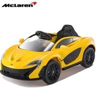 麥拉倫 McLaren P1 原廠授權 雙驅兒童電動車 亮麗黃