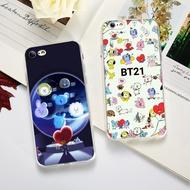 Fashion BTS Cartoon Cute BT21 TPU Korean Phone Case for IPhone 5 5S SE 6 6S 6Plus 7 7Plus 8 8Plus X XS XR XS MAX
