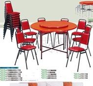高雄永成  全新  5尺圓餐桌/5尺辦桌椅/5尺吃飯桌/5尺火鍋桌/5尺西餐桌/5尺玻璃纖維圓桌