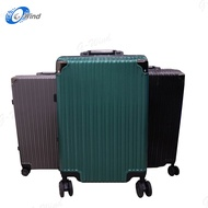 WL กระเป๋าเดินทางอลูมิเนียม กระเป๋าเดินทางล้อลาก กระเป๋าเดินทาง กระเป๋าโครงอลูมิเนียม ขนาด 20 /24 /28 นิ้ว