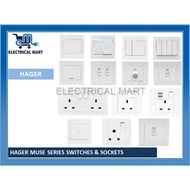 [Shop Malaysia] HAGER MUSE SERIES SWITCHES & SOCKETS