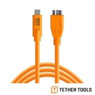 ..  TETHER TOOLS CUC3315-ORG TETHER Pro 傳輸線 USB-C to 3.0 Micro-B 4.6M 延長線 公司貨