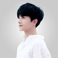 Wig Men Korean Fashionable Short Hair LAZADA Chemicals Headset