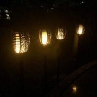 ☀️傑能科技☀️太陽能火把燈 露營燈 插地燈 蠟燭燈 火炬燈 火焰燈 仿真火把燈 動態火把 仿藤編燈 D-51