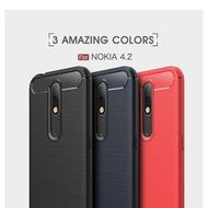 【拉絲碳纖維軟套】紅米 Redmi Note 8T 6.3吋 M1908C3X 手機防摔殼/保護套/背蓋