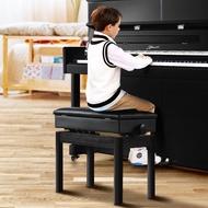 {全新}(熱銷)鋼琴凳單人可升降雙人實木鋼琴凳電子琴凳鍵盤椅古箏凳子電鋼琴凳