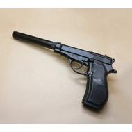 < WLder > FS M84 全金屬 CO2直壓槍 滅音管(BB槍BB彈瓦斯槍玩具槍CO2槍長槍短槍模型槍手槍 非WG 301
