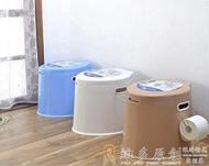 馬桶蓋 加厚加高可行動馬桶成人孕婦便攜尿盆老人座便器座便器塑膠盂
