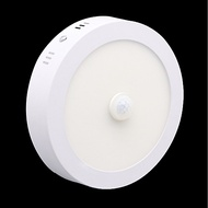 ZDM 6W Round Human Body Induction Light Radar Motion Sensor Infrared LED Downlight Warm White / Cold White AC85-265V
