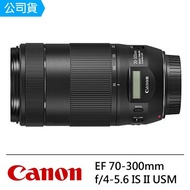 【Canon】EF 70-300mm F4-5.6 IS II USM(公司貨)