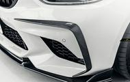 供BMW F87 M2 competition前台保險杠使用的謡言擾流器真貨DryCarbon幹燥碳 meteo