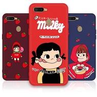 Cartoon Peko Pattern Cute Soft TPU Case For OPPO R7S R9S R11 R11S F1 F3 Plus R15 R17 Pro Silicone Cover