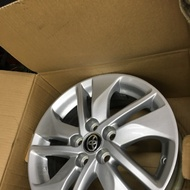 Toyota Sentra 原廠15吋5*100鋁圈1顆$750