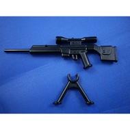 【玩具星球】特警裝備 狙擊槍PSG1 (LEGO樂高相容零件)