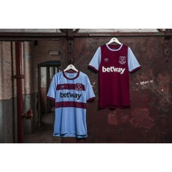 2020-2021 West Ham away jersey 20/21 West Ham jersey West Ham football jersey