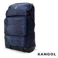 二手 Kangol 英式時尚登山機能進階後背包(KG1106-08)-藍色
