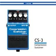 【非凡樂器】BOSS CS-3 Compression Sustainer 壓縮效果器/單顆等化效果器/贈導線