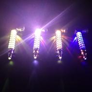 Colorfull Flashing LED Lamp Smoke Pipes Tobacco Pipe Smoking Pipe Grinder Smoke Narguile Hookah Spring Cigarette Holder