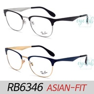 [EYELAB] RayBan RB6346 Asian Fit Designer Glasses frames/Sunglass/Free delivery/100% Authentic/UV pr