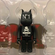 BEETLE 現貨 BE@RBRICK NEIGHBORHOOD 100% BEARBRICK S24 NBHD 黑白