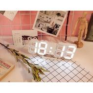 LED數字時鐘 電子鐘 夜光 3D掛鐘 電子式 數字鐘 時鐘 立體電子時鐘 可壁掛 科技電子鐘  電子鬧鐘 掛鐘 萬年曆