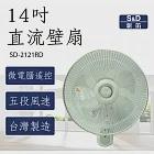 【S&D新笛】14吋 DC直流遙控壁扇 (SD-2121RD)