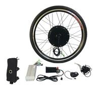 """ข้อเสนอที่ดีที่สุด 1000W ชุดแปลงจักรยานไฟฟ้า E 26 """"ล้อหน้ามอเตอร์จักรยานฮับ 48V"""