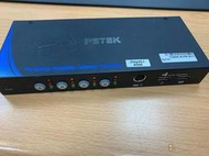 dannysu 專用(二手)PSTEK五角 CD-104C 4埠 PS/2 USB KVM 電腦切換器 滑鼠 熱插拔