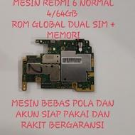 Mesin redmi 6 normal 4/64gb mesin redmi 6 normal mesin redmi 6 4/64gb