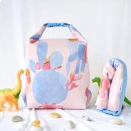 OFoodin好食袋(4公升)【恐龍遊園】矽膠食物袋