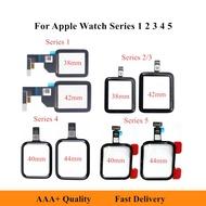 100% ทดสอบใหม่ Touch สำหรับ Apple-Watch Series 38มม.40มม.42มม.44มม.สำหรับ-Iwatch 1 2 3 4 5สัมผัสหน้าจอ Lcd แก้วดิจิตอล